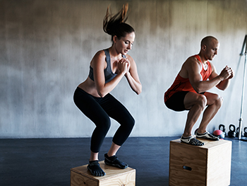 an intense workout that could cause soreness