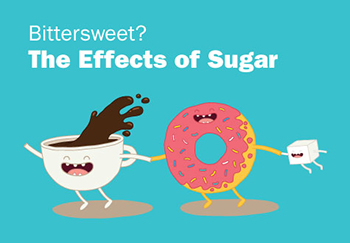 stop eating sugar - sugar effects series graphic
